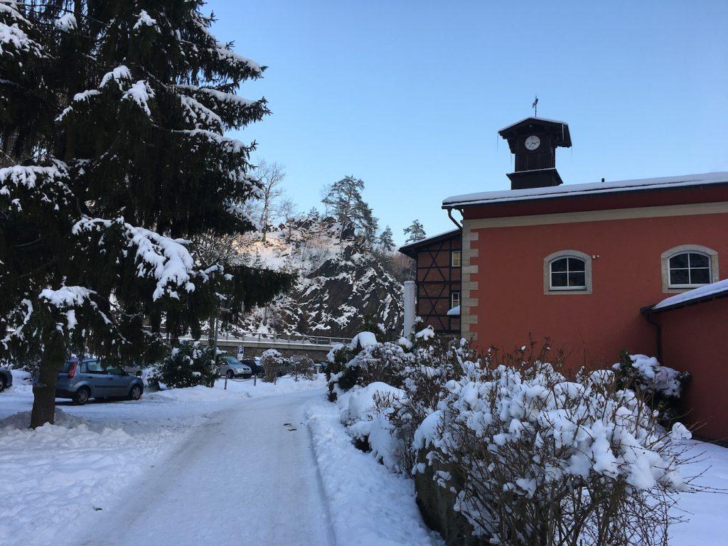 Rabenauer Mühle im Winter - © Foto Kathleen Starke